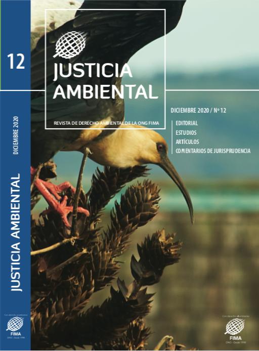Portada Revista Justicia Ambiental 12